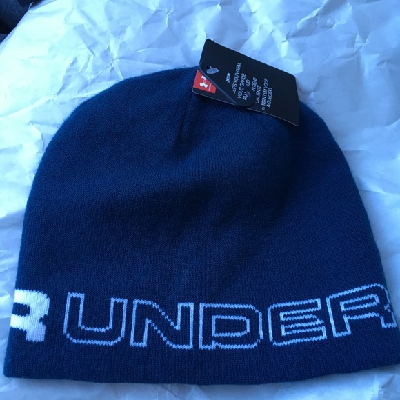 Under Armour cold gear winter hat. M 5a42b1536bf5a69099062df4 9ed5c1d6fe9